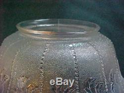 3 Victorian Art Glass Opalescent 4 Fitter Gas Ceiling Light Lamp Shades EAPG