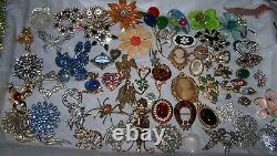 Antique VTG Jewelry Lot Art Deco Victorian & More Haskell Bernard Coro Sterling