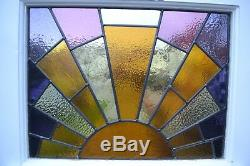 Art deco leaded light stained glass front door NEW PANEL! R870. Delivery option
