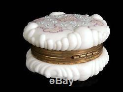 C. 1890 Wavecrest Dresser or Trinket Box C. F. Monroe Company Meriden Connecticut