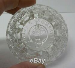 Clarke Fairy Lamp Glass Base, Satin Diamond Quilted Shade, c. 1880's
