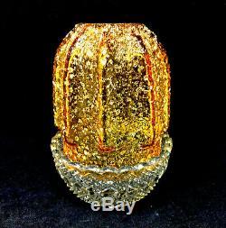 Clarke Fairy Lamp with Stunning Overshot Glass Shade