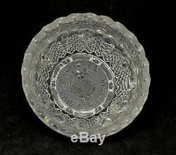 Cranberry Glass William McKinley 1893 Political Clarke's Fairy Lamp
