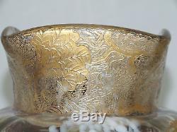 ERNEST BAPTISTE LEVEILLE SPECTACULAR ART NOUVEAU GLASS Ca. 1880