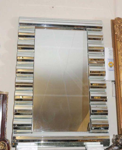 Mirror Art Deco Glass Mantle Mirrors