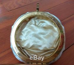 Mt. Washington/Wavecrest Victorian Art Glass Dresser/Powder Box/Jar/Canister