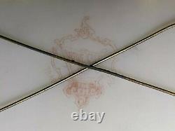 Rare Wave Crest C. F. Monroe Vanity Trinket Comb and Brush Holder