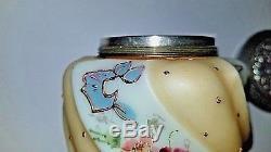 Very Rare Early C. F. Monroe Wavecrest Sugar Sifter/Shaker Helmschied Swirl 3T