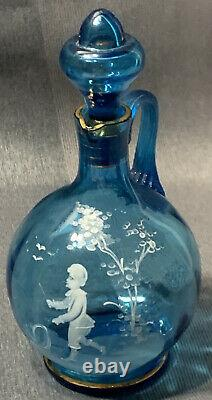Victorian Mary Gregory Glass